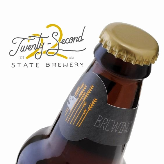 Beer Bottle Neck Label Template Beautiful Make Bottle Neck Collars with Your Logo Using Our Online