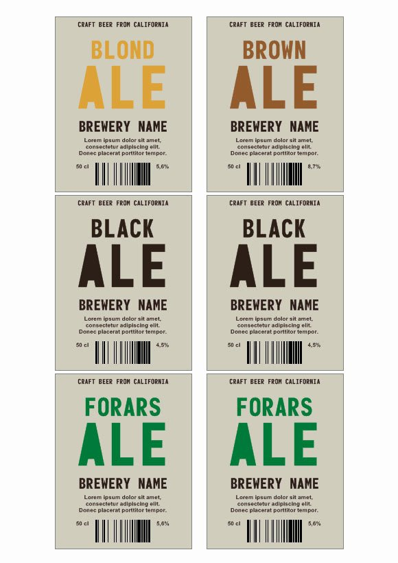 Beer Label Template Word Inspirational Brady Label Printer Templates Word Templates Resume