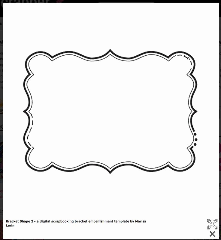 Beer Label Template Word Lovely Bracket Shape Free Templates Cards & Envelopes
