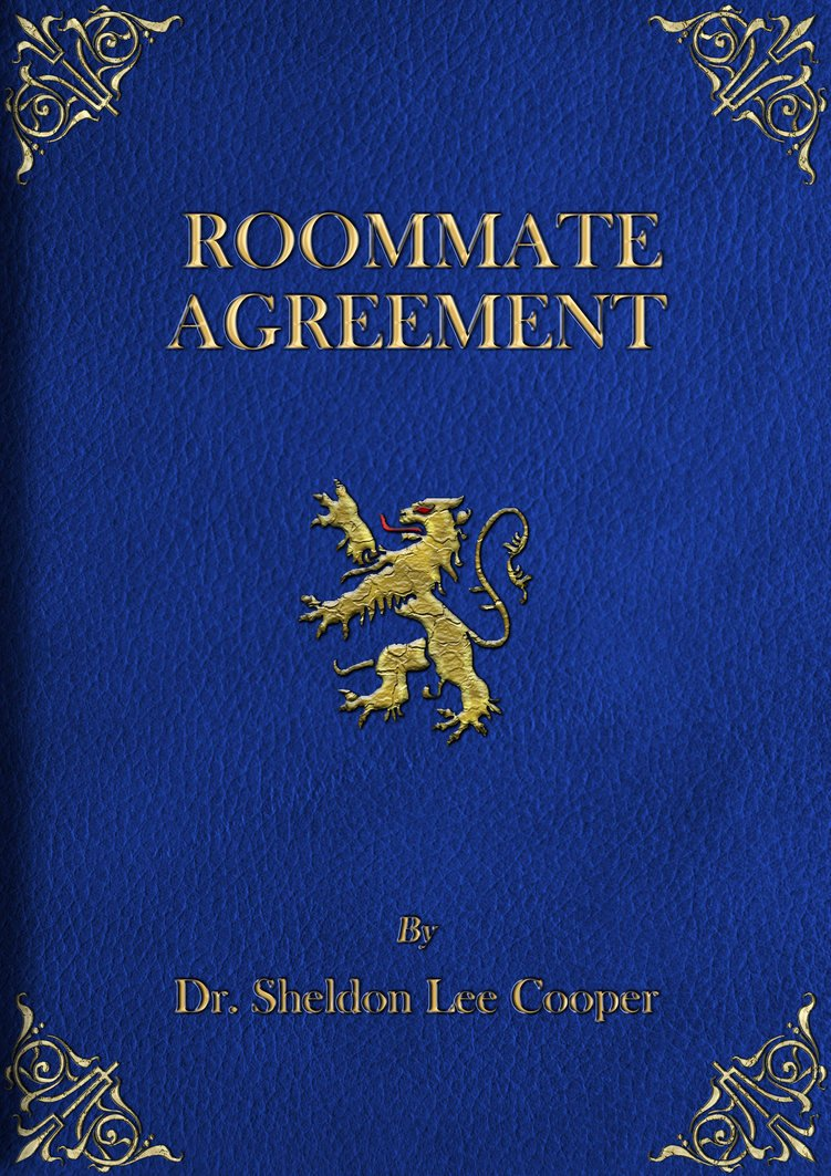 Big Bang theory Roommate Agreement Pdf Awesome the Roommate Agreement the Big Bang theory Wiki