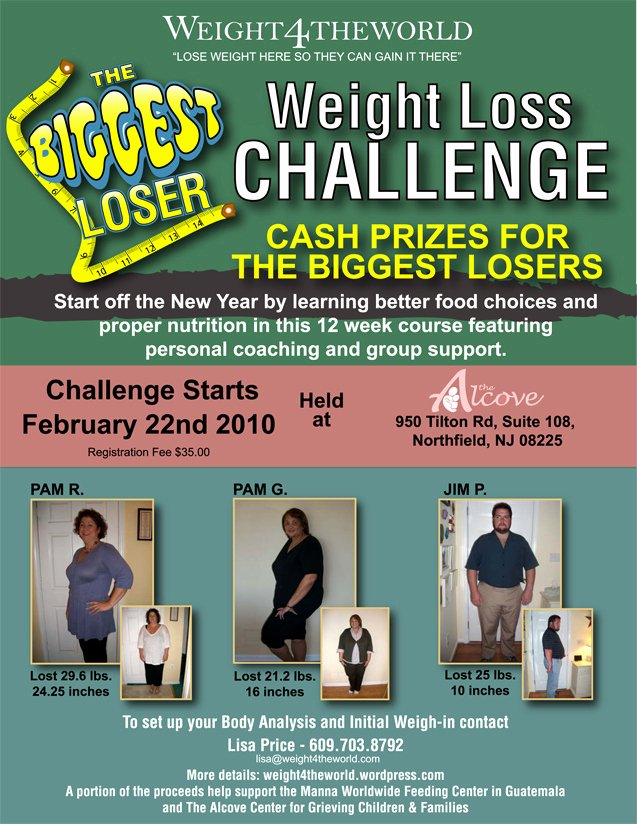 Biggest Loser Contest Flyer Template Awesome Biggest Loser Weight Loss Challenge