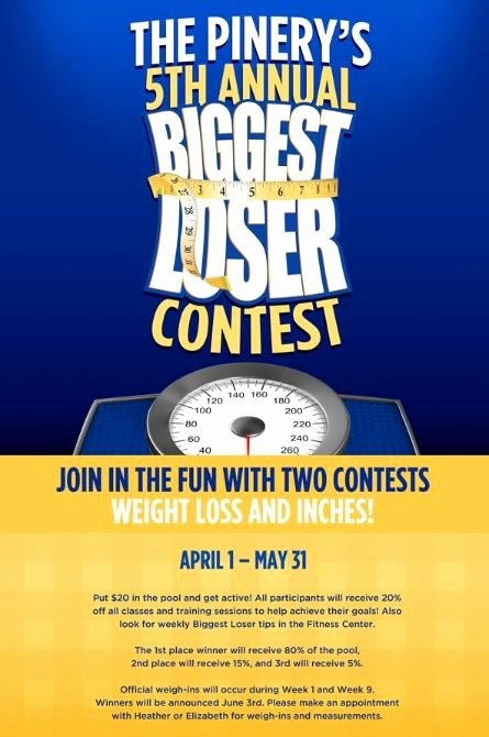 Biggest Loser Contest Flyer Template Inspirational 10 Best Images About Fitness events On Pinterest
