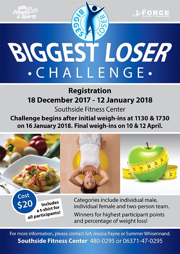 Biggest Loser Contest Flyer Template Inspirational the Biggest Loser is the Real Winner Ramstein Air Base