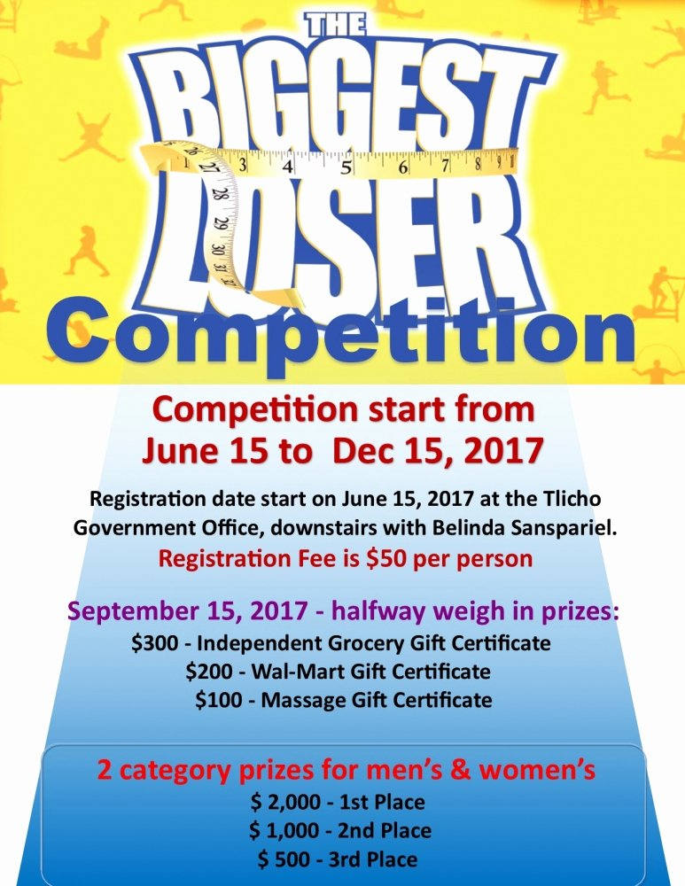 Biggest Loser Contest Flyer Template Lovely Up Ing events