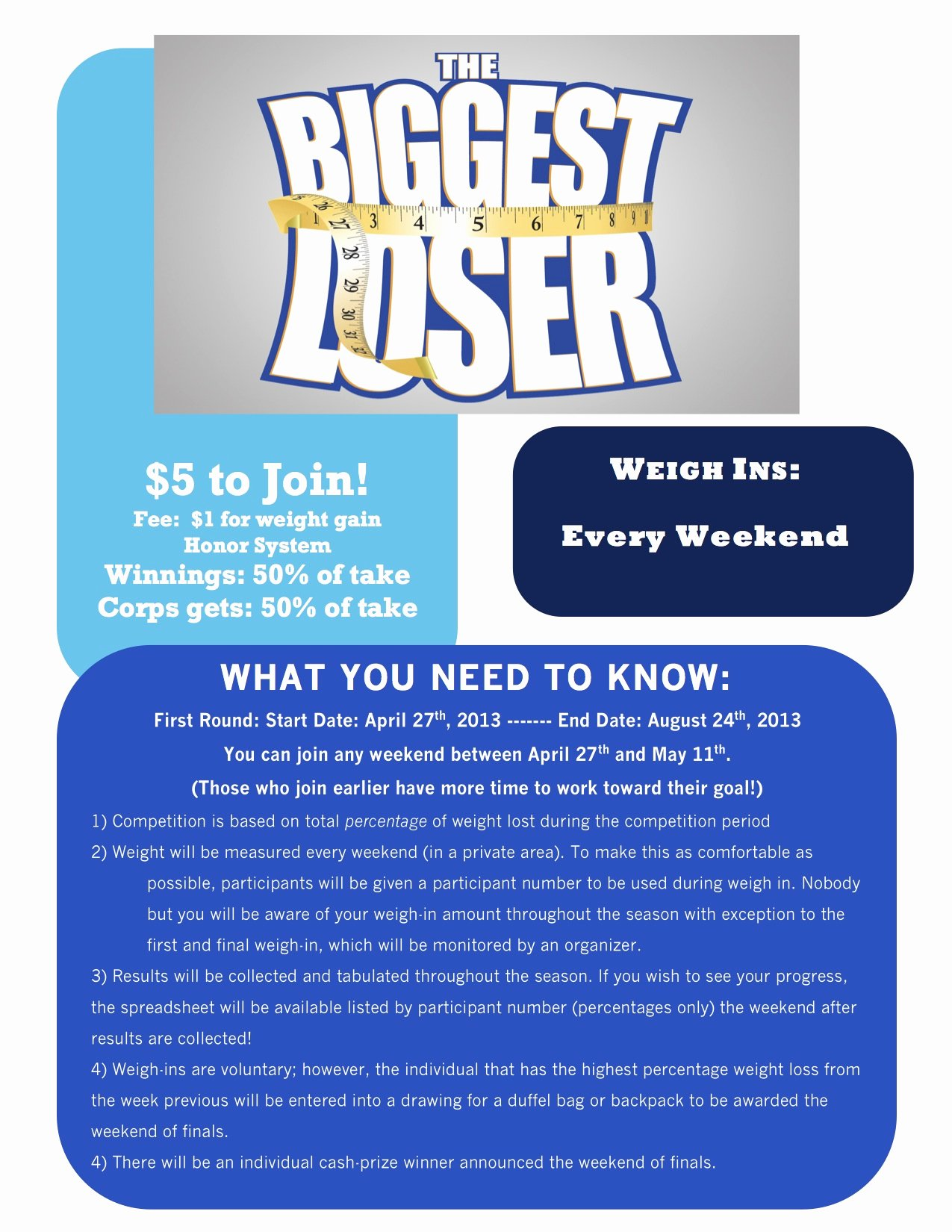 """Biggest Loser Contest Flyer Template Lovely White Sabers Holding """"the Biggest Loser"""" Petition"""