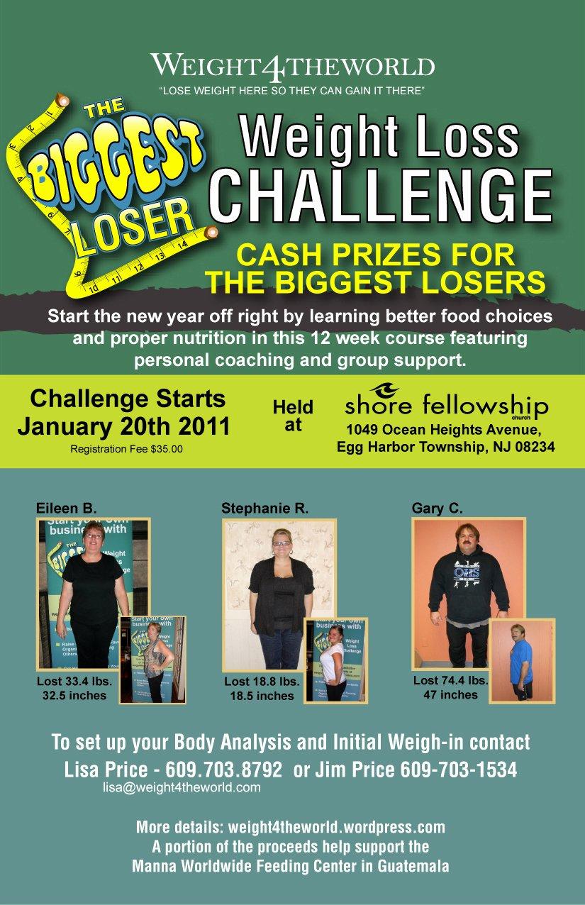 Biggest Loser Contest Flyer Template Luxury Biggest Loser Weight Loss Challenge