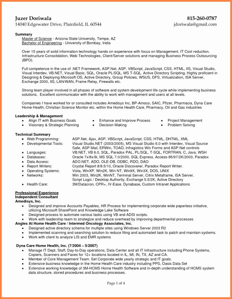 Billing and Coding Resume Elegant 8 Sample Resume for Medical Billing Specialist