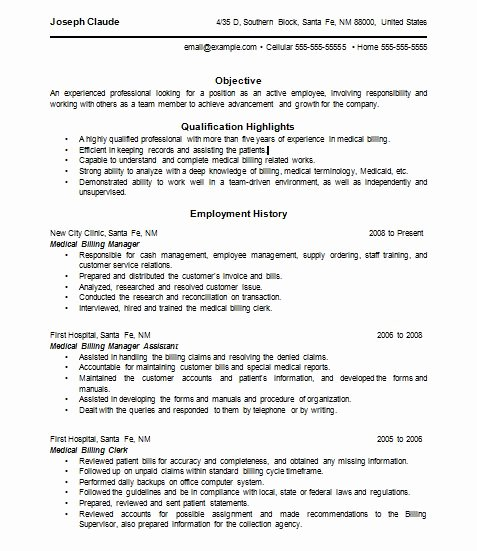 Billing and Coding Resume Inspirational 37 Best Resume Images On Pinterest