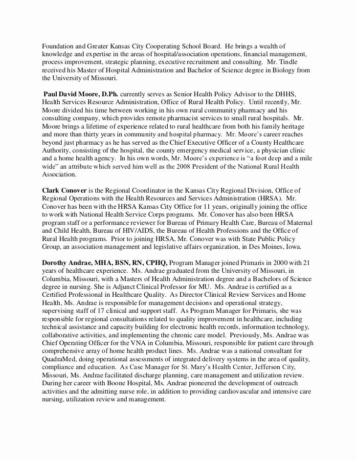 Biographical Sketch Example for Scholarship New Biographical Sketches