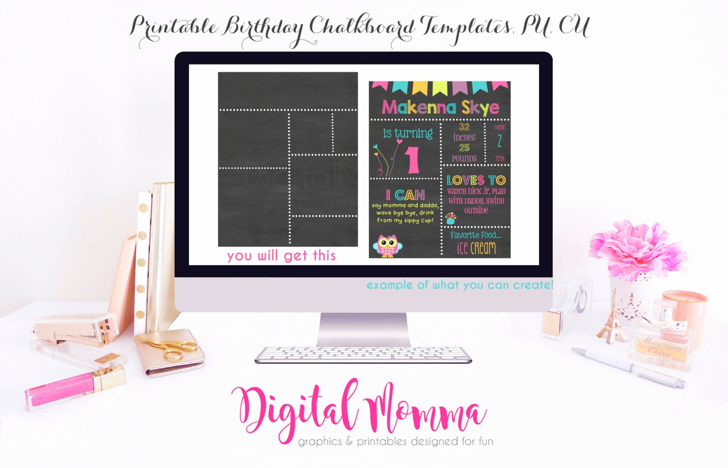 Birthday Chalkboard Template Best Of Printable Diy Blank Birthday Chalkboard Template High
