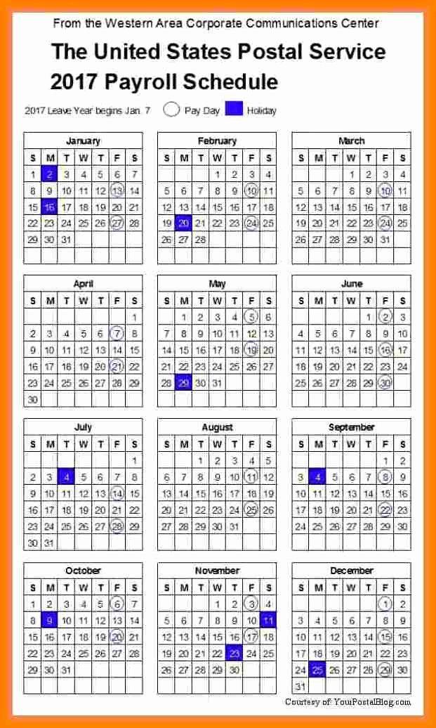 Biweekly Payroll Calendar Template 2017 Beautiful 14 Securitas Pay Calendar 2018