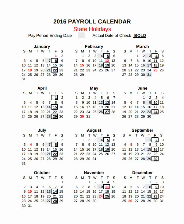 Biweekly Payroll Calendar Template 2019 New Awesome 35 Examples 2019 Pay Period Calendar