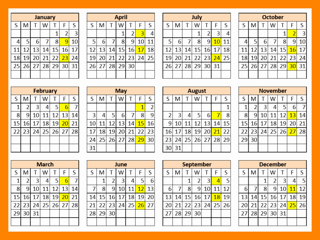 Biweekly Payroll Calendar Template 2019 Unique 9 2018 Bi Weekly Payroll Calendar
