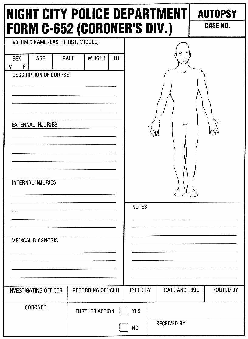Blank Autopsy Report Template Awesome Index Of Cdn 15 2016 219