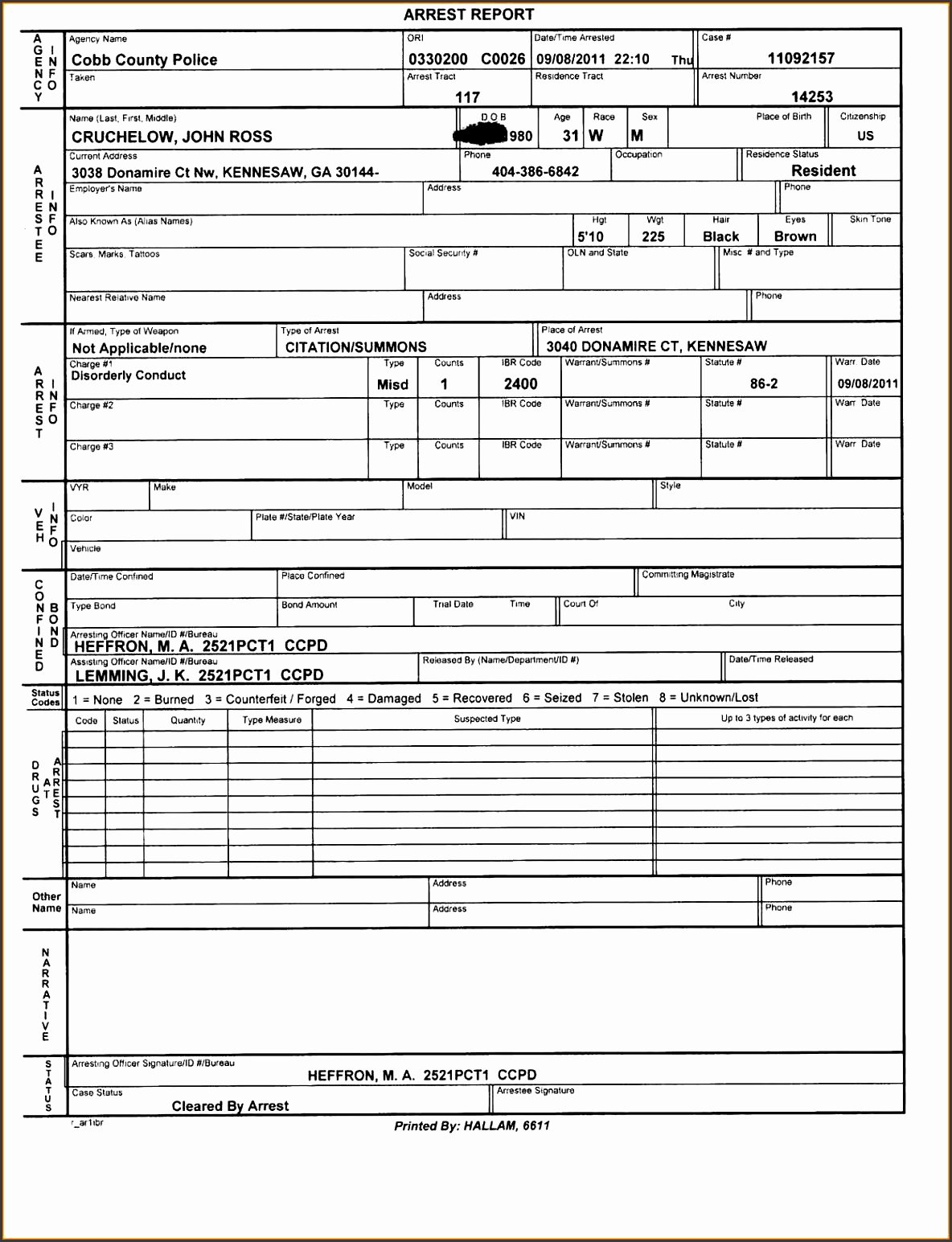 Blank Autopsy Report Template New 6 Police Report Template Line Sampletemplatess
