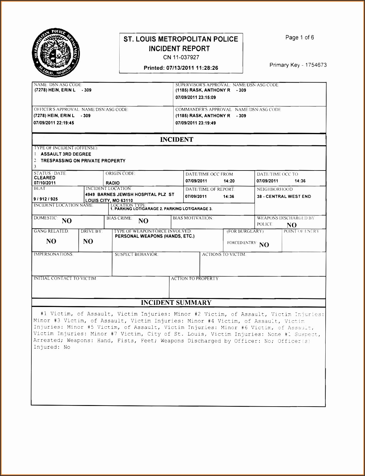 Blank Autopsy Report Template Unique 6 Police Report Template Line Sampletemplatess