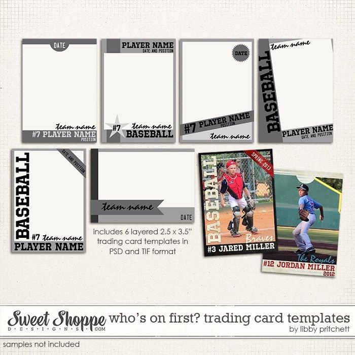 Blank Baseball Card Template Inspirational Best S Of Baseball Trading Card Template Printable