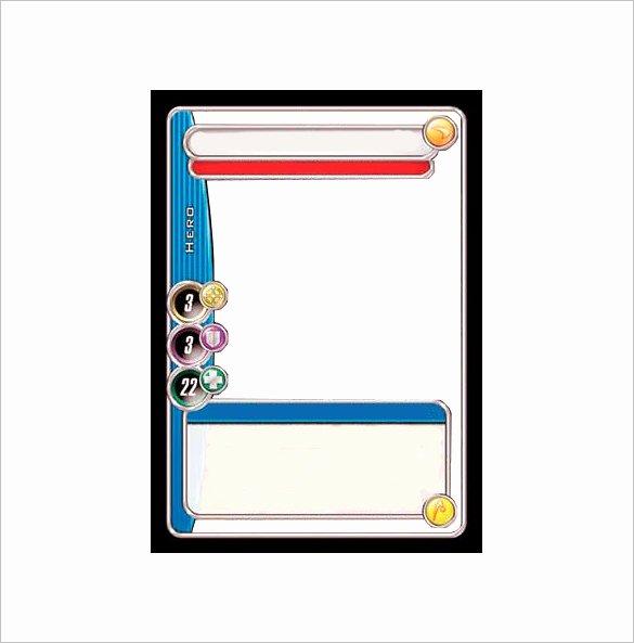 Blank Baseball Card Template Lovely 23 Trading Card Templates