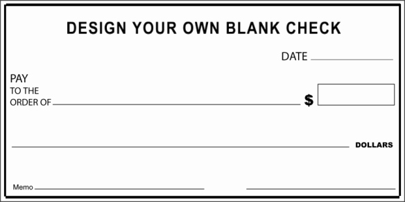 Blank Check Template Editable Beautiful Check Examples
