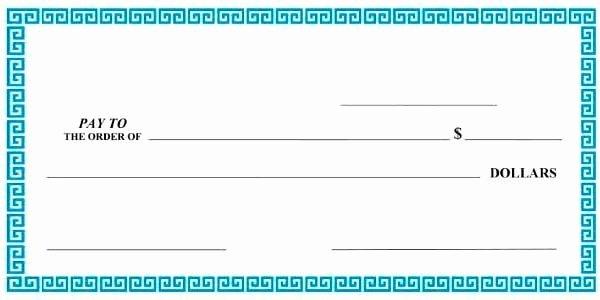 Blank Check Template Editable Beautiful Giant Check Template Editable Download