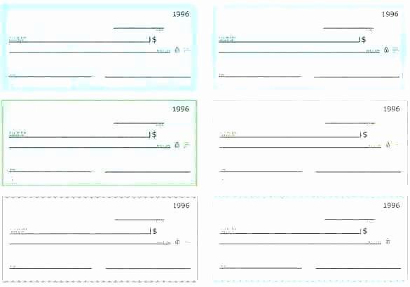 Blank Check Template Editable Elegant 15 Payroll Check Template