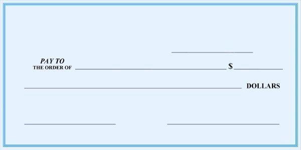 Blank Check Template Editable Fresh Blank Check Template