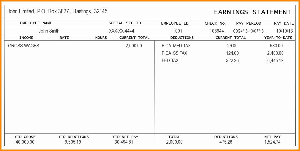 Blank Check Template Editable Inspirational 9 Free Editable Pay Stub Template