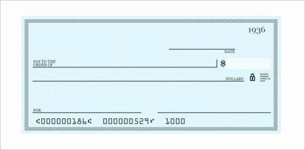 Blank Check Template Editable Unique 26 Blank Check Template Doc Psd Pdf & Vector formats