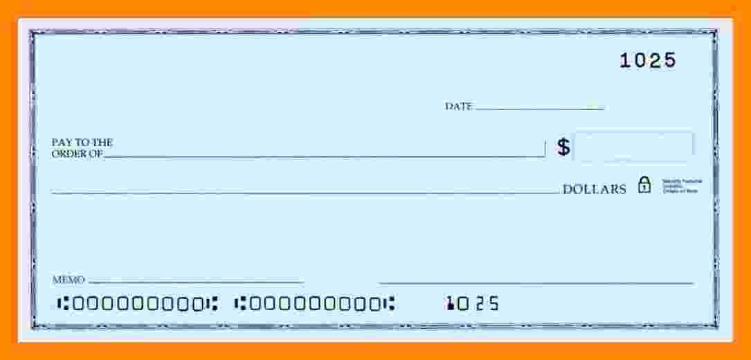 Blank Check Templates for Microsoft Word Awesome 8 Microsoft Word Payroll Template