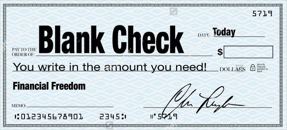 Blank Check Templates for Microsoft Word Beautiful 6 Blank Check Templates for Microsoft Word Website