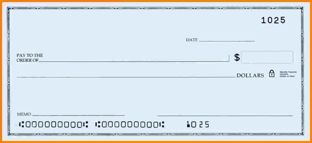 Blank Check Templates for Microsoft Word Beautiful Blank Check Templates for Microsoft Word Check Template