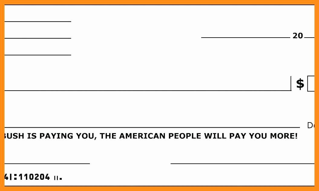 Blank Check Templates for Microsoft Word New 12 13 Free Editable Cheque Template