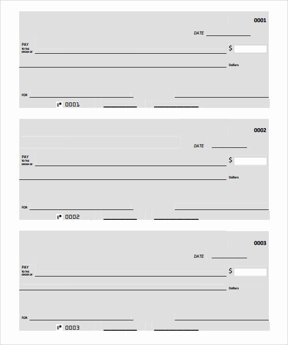 Blank Check Templates for Microsoft Word Unique Blank Check Template – 30 Free Word Psd Pdf & Vector