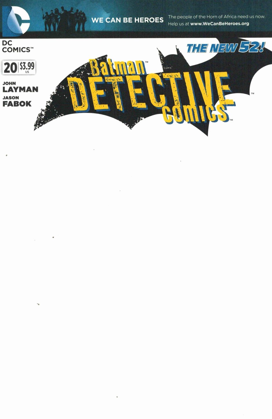 Blank Comic Book Cover Template Beautiful Detective Ics 20 Blank Variant Cover We Can Be Heroes