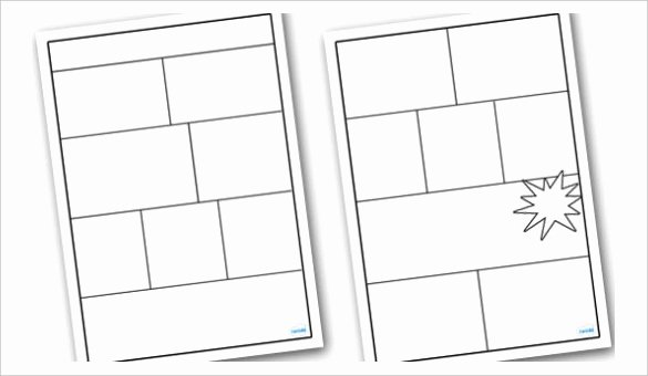 Blank Comic Book Cover Template Unique 11 Book Template Doc Excel Ppt Pdf Psd