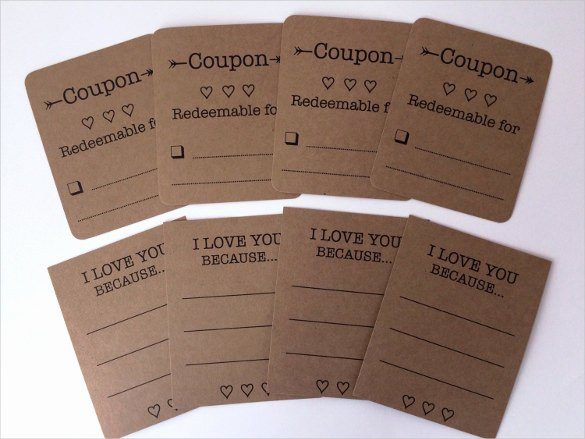 Blank Coupon Template for Word Beautiful 25 Love Coupon Templates Free Sample Example format