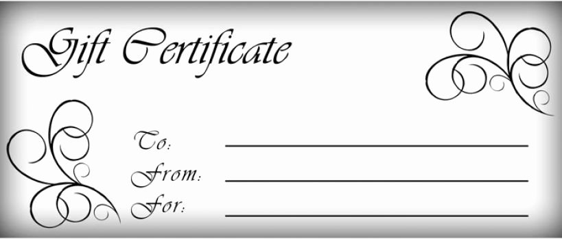 Blank Coupon Template for Word Beautiful T Certificates Templates