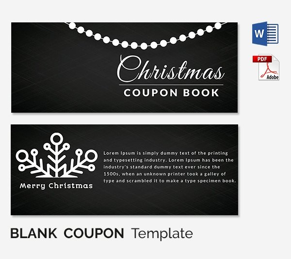 Blank Coupon Template for Word New Blank Coupon Templates – 26 Free Psd Word Eps Jpeg