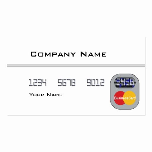 Blank Credit Card Template Best Of Credit Card Blank Double Sided Standard Business Cards