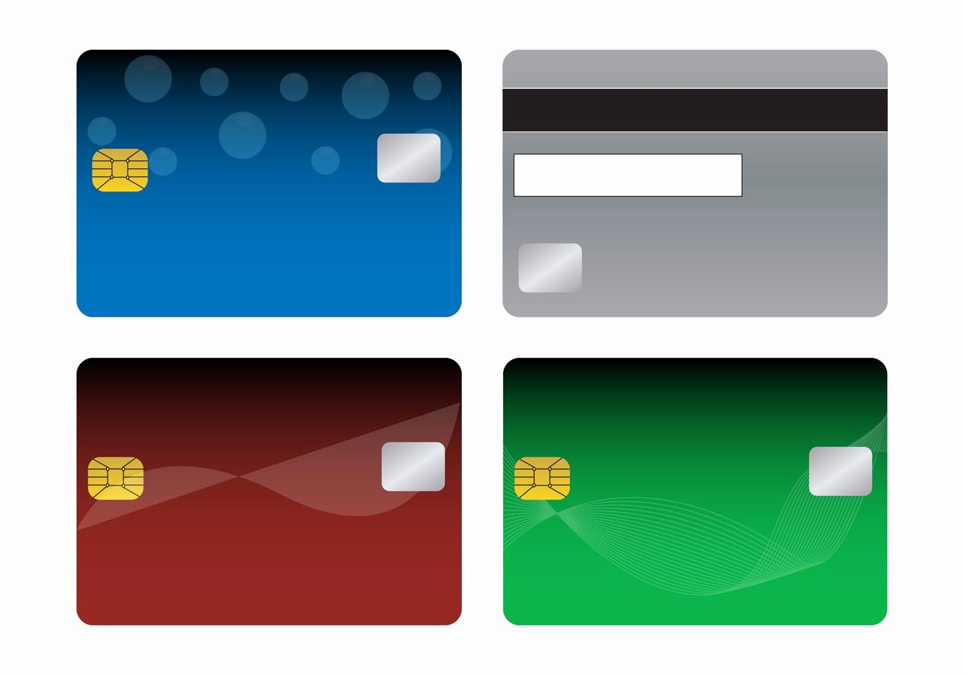 Blank Credit Card Template Elegant Bank Cards Templates Download Free Vector Art Stock