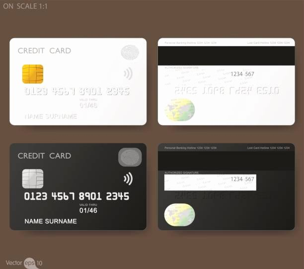Blank Credit Card Template Luxury Royalty Free Blank Credit Card Clip Art Vector