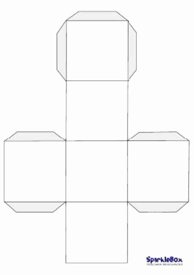 Blank Dice Template Unique Blank Dice Template Will Use This for Alphabet and Number