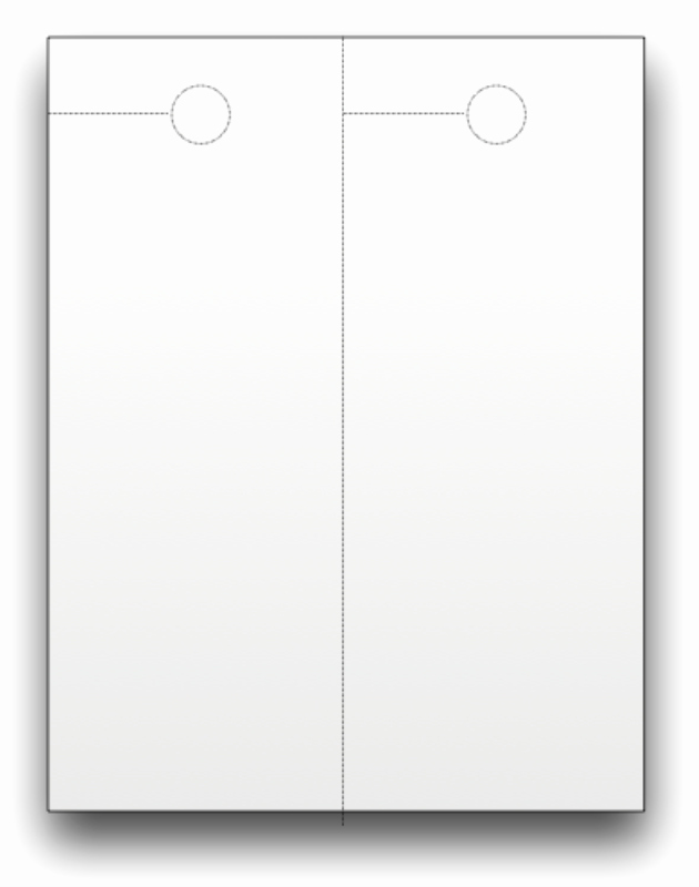 Blank Door Hanger Template for Word Awesome Blank Door Hangers Custom Print