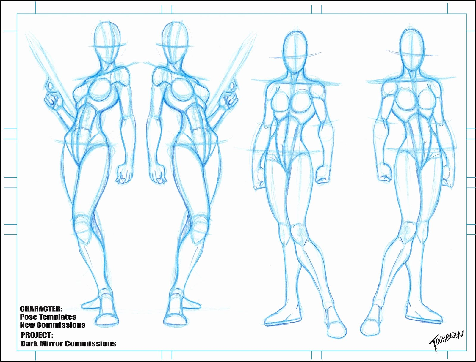 Blank Female Body Template Awesome the Art Sean tourangeau New Character Blanks