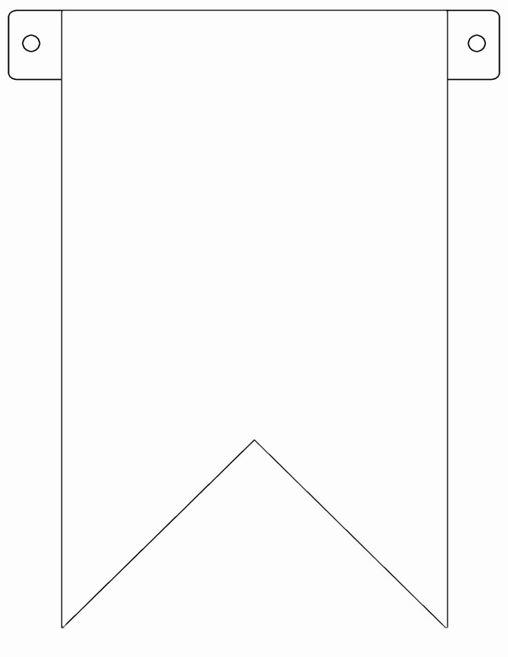 Blank Flag Template Awesome Blank Flag Template Clipart Best