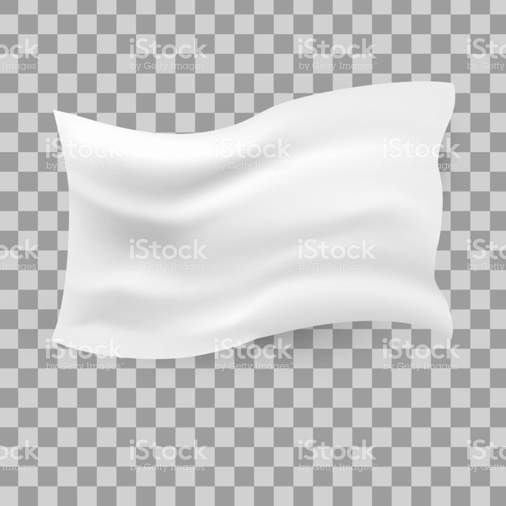 Blank Flag Template Awesome White Waving Flag Template Transparen Background Stock