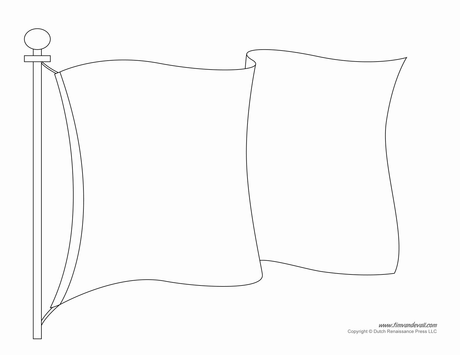Blank Flag Template Lovely Blank Flag Template Printable Sketch Coloring Page