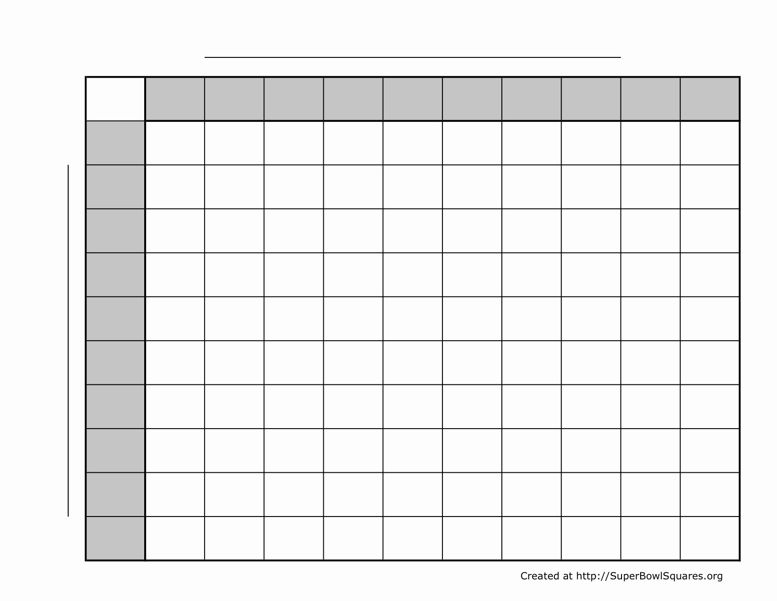 Blank Football Play Sheets New Printable Football Squares Sheets