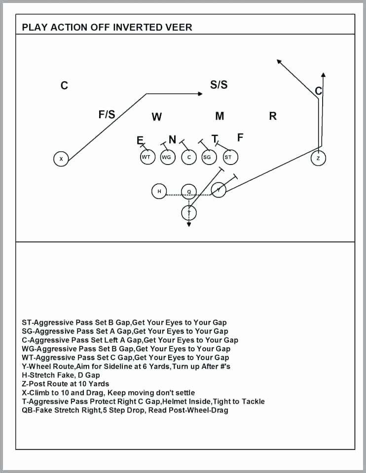 Blank Football Playbook Sheets New 18 Lovely Play 60 Flag Football Collections