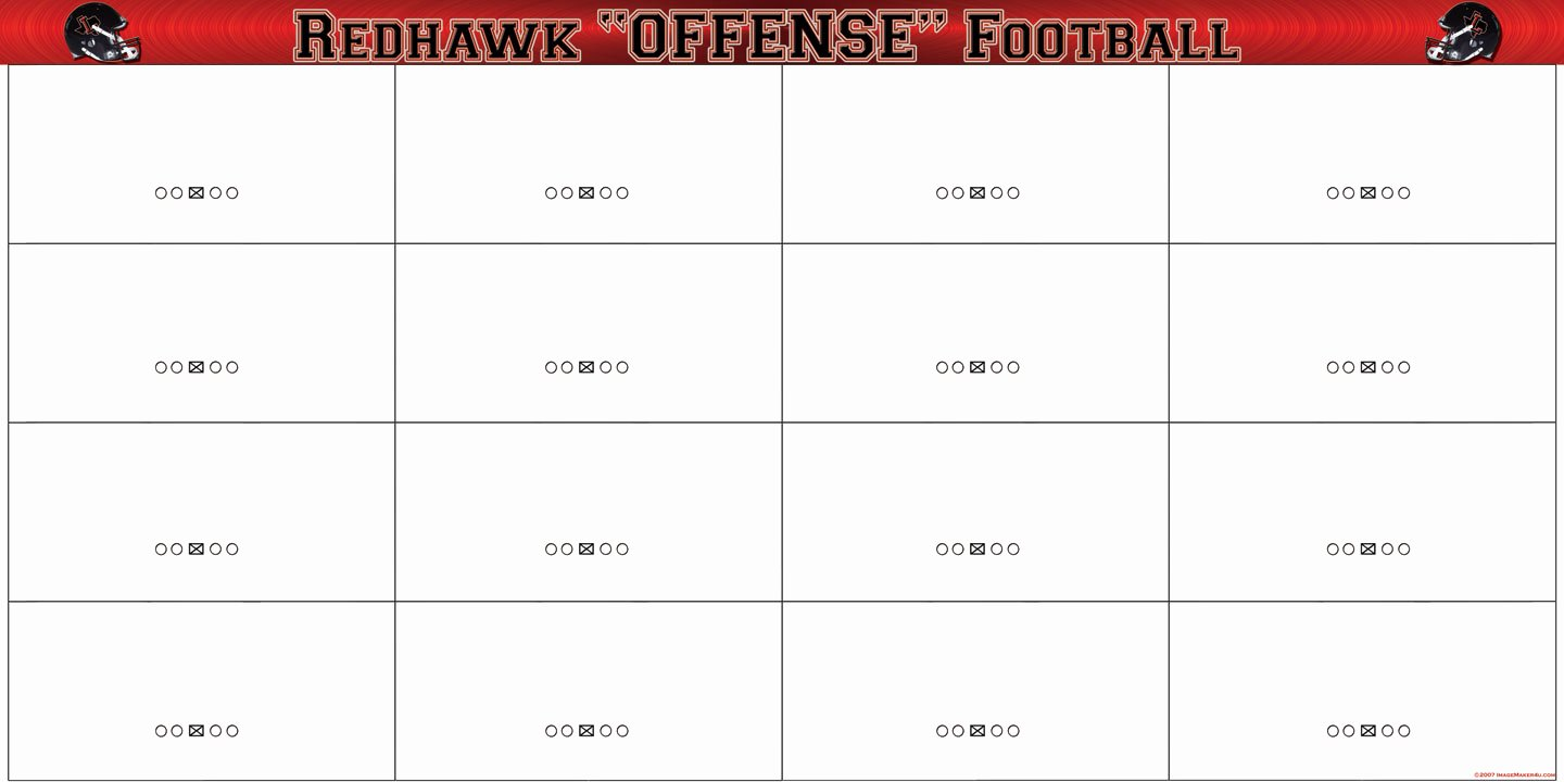 Blank Football Playbook Template Unique Libertyproofs